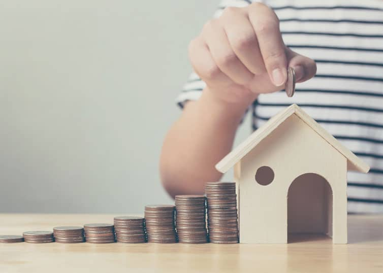 Young professional saving up for real estate start-up costs in north carolina