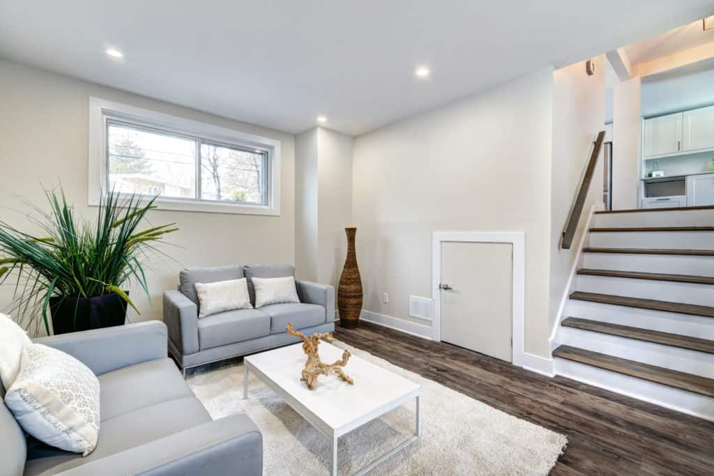 Fully staged house